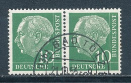 Bund 183 Waagerechtes Paar Gestempelt Mi. 7,50 - [7] République Fédérale