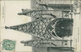 29 PONT CROIX / Le Portail De Notre Dame De Roscudon / - Pont-Croix