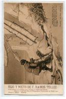 ESPAGNE  MALAGA Publicité Vins  F RAMOZ TELLEZ Don Quijote Parte Primera Capitulo VIII   D01 2020 - Málaga