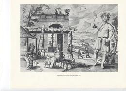 GRANDES FIGURES DE FRANCE - Septembtre - Gravure De Jacques Callot - Geschichte