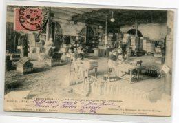 51 EPERNAY Maison Champagne MERCIER Ouvriers Préparation Bouteilles Pour Expédition  1904 Timb  D01 2020 - Epernay