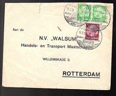 1936 KAUB Kauber Wein To N.V. Walsum Willemskade Rotterdam (108) - Storia Postale
