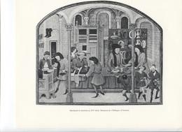 GRANDES FIGURES DE FRANCE - Marchands Et Acheteurs Au XVe Siècle - Minitaure De L'Ethique D'Aristote - Histoire