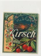 AN 847  / ETIQUETTE  -  KIRSCH VIEUX  N° 625 - Etiquettes