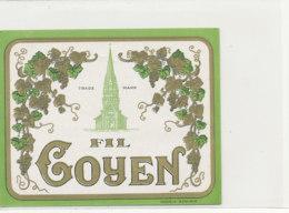 AN 857  / ETIQUETTE  - FIL GOYEN - Labels