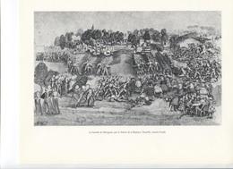GRANDES FIGURES DE FRANCE - La Bataille De Marignan , Par Le Maitre De La Rapière, Chantilly - Histoire