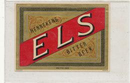 AN 866 / ETIQUETTE  -  HENNEKENS E  L  S.  BITTER  BEEK - Bier