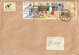 Storia Postale - Lettera Con Affrancatura In Tariffa Prioritaria.  - Viaggiata - - Ohne Zuordnung