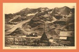 A631 / 447 05 - LE LAUTARET Jardin Alpin Chalet P.L.M. - Francia