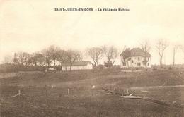 Cpa Des Landes, Saint Julien En Born (40), La Vallée De Mahiou, Sans Mention D'éditeur, 3 Plis Transversaux - France