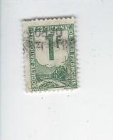 France Colis Postaux N° 1 Oblitéré 1944-47 - Oblitérés