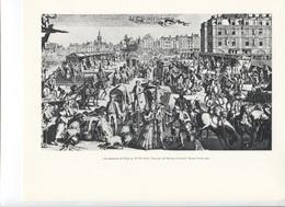 GRANDES FIGURES DE FRANCE - Les Embarras De Paris Au XVIIe Siècle ,    Gravure De Nicolas Guérard - Geschichte