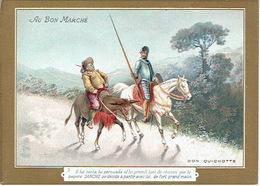 Chromo AU BON MARCHE - DON QUICHOTTE N°3 - La Lithographie Parisienne, ROMANET PARIS - Au Bon Marché