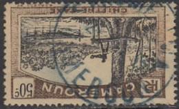 Cameroun Mandat Français - Sangmelima Sur Timbre-taxe N° 9 (YT) N° 9 (AM). Oblitération. - Oblitérés
