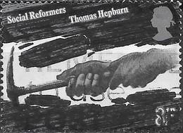 GREAT BRITAIN 1976 Social Reformers - 81/2p Hewing Coal (Thomas Hepburn) AVU - 1952-.... (Elizabeth II)