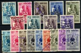 Venezuela Nº 492/509 (aéreos) Año 1953. - Venezuela