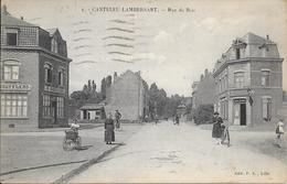 CANTELEU-LAMBERSART (59) N°4 - RUE DU BOIS - Ed: P.L. Lille Circulé: 1926 - 2 Scans. - Lambersart