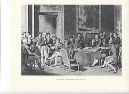 GRANDES FIGURES DE FRANCE - Le Congrès De Vienne Par Isabey - Histoire