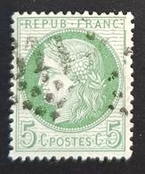 1871 - 1875 Ceres, 5c, France, Republique Française - 1871-1875 Ceres