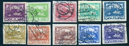 1918 - Michel: 1-10 Used - Usados
