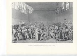 GRANDES FIGURES DE FRANCE - Le Serment Du Jeu De Paume, Par David - Geschichte