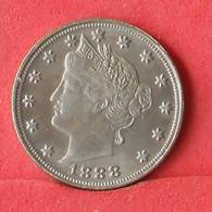 USA 5 CENTS 1888 - ***REPLICA***    4,5 GRS 21,2 MM       - (Nº33273) - Federal Issues