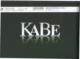KABE Nachtrag Deutschland 2019 BI OF Neu - Album & Raccoglitori