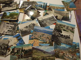 ITALIE LOT DE PLUS DE 350 CARTES POSTALES ITALIE SEMI MODERNES ET MODERNES GRAND FORMAT ET 5 CARNETS - Postcards