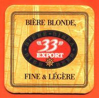 Sous Bock - Coaster Bière 33 Export - Beer Mats