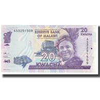 Billet, Malawi, 20 Kwacha, 2014, 2014-01-01, KM:57, NEUF - Malawi
