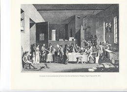 GRANDES FIGURES DE FRANCE - Un Comité Révolutionnaire Pendant La Terreur.  Eau Forte De Berhault Et Malapeau - Fragonard - Histoire
