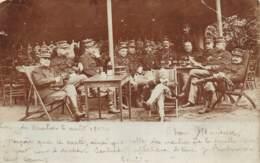 Beverloo - 1902 - Officiers Belges - Envoyée Vers Mons - Kazerne