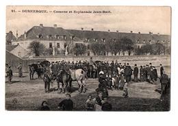 DUNKERQUE CASERNE ESPLANADE JEAN BART TRES ANIMEE - Dunkerque