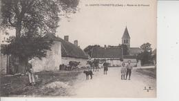 18 SAINTE THORETTE  -  Route De St Florent  - - Autres Communes