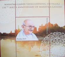 UZBEKISTAN  2019  M. Gandhi   S/S   MNH - Uzbekistan