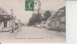 18 VILLABON  -  Grande Rue Et Place De L'Eglise  - - Autres Communes