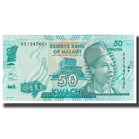 Billet, Malawi, 50 Kwacha, 2015, 2015-01-01, KM:58, NEUF - Malawi