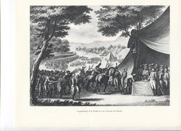 GRANDES FIGURES DE FRANCE - La Pacification De La Vendée En 1795 - Gravure De Girardet - Geschichte