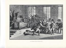 GRANDES FIGURES DE FRANCE - Le 18 Brumaire - Gravure De Decantis - Histoire