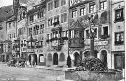 STEIN AM RHEIN → Rathausplatz Mit Oldtimer Ca.1950 - SH Schaffhausen