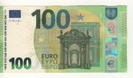 100 EURO  NEW  DRAGHI. E 001 H4    EA0078539005  /   XF - 100 Euro