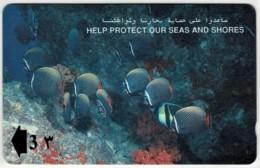 Oman - Collare Butterflyfish - Protect Seas, Shores Phonecard - Oman