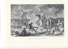 GRANDES FIGURES DE FRANCE - Napoléon Au Bivouac De Wagram - Dessin Attribué à Zix Benjamin - Histoire