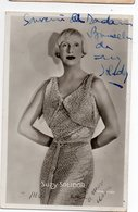 AUTOGRAPHE * DEDICACE * SUZY SOLIDOR * 1900-1983 * Chanteuse * Actrice * Romancière - Artistes