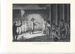 GRANDES FIGURES DE FRANCE - L'exécution Du Duc D'Engien - Gravure Anonyme - Histoire
