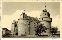 """CP De LAVAUX Ste Anne """" Le Château Féodal - Entrée """" - Rochefort"""