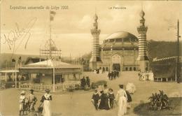"""CP De L'Exposition Universelle De Liège 1905 """" Le Panorama """" - Luik"""