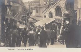 Veneto - Venezia  - Interno Di Rialto - Molto Bella Splendida Animazione - Venezia (Venice)