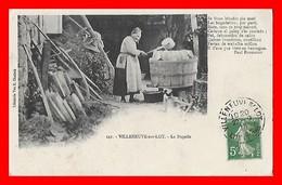 CPA (47) VILLENEUVE-sur-LOT.  La Bugado à La Lessive...K568 - Villeneuve Sur Lot