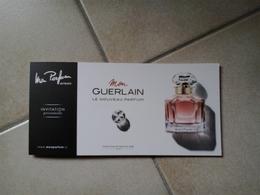 Mon Parfum - Cartes Parfumées